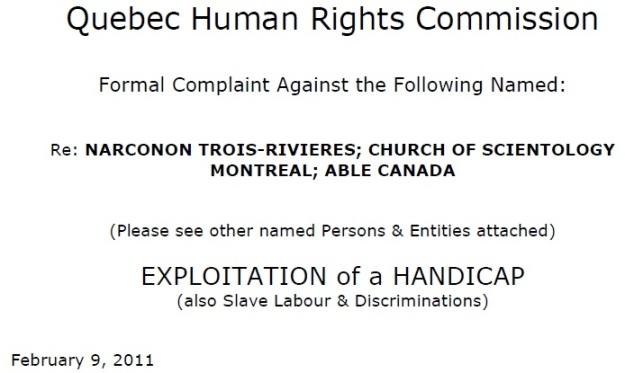commission complaint